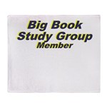 big-book-study-group Throw Blanket