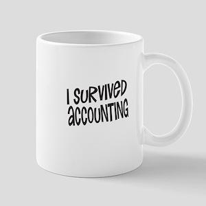 I survived accounting Mugs