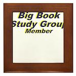big-book-study-group Framed Tile