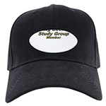 big-book-study-group Black Cap with Patch