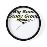 big-book-study-group Wall Clock