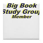 big-book-study-group Tile Coaster