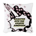 fourth-dimension Woven Throw Pillow