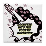 fourth-dimension Tile Coaster