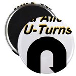 u-turns Magnet