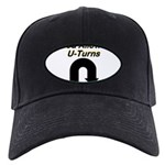 u-turns Black Cap with Patch