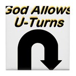 u-turns Tile Coaster