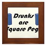 square-pegs Framed Tile