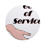 be-of-service Round Ornament