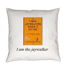 jaywalking Everyday Pillow