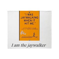 jaywalking Throw Blanket