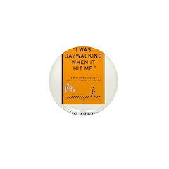 jaywalking Mini Button (100 pack)