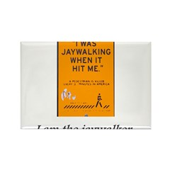 jaywalking Rectangle Magnet (100 pack)