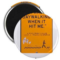 jaywalking Magnet