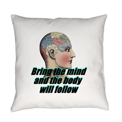 mind-will-follow2 Everyday Pillow