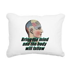 mind-will-follow2 Rectangular Canvas Pillow