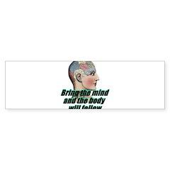 mind-will-follow2 Sticker (Bumper 10 pk)