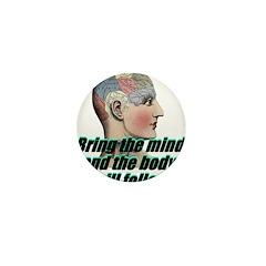 mind-will-follow2 Mini Button (100 pack)