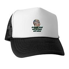 mind-will-follow2 Trucker Hat