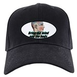 mind-will-follow2 Black Cap with Patch