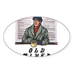 old-timer Sticker (Oval)