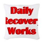 daily-recovery Woven Throw Pillow