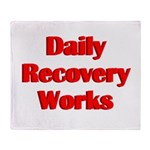 daily-recovery Throw Blanket