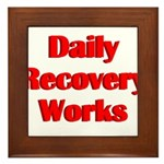daily-recovery Framed Tile