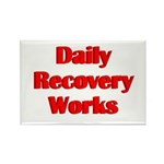 daily-recovery Rectangle Magnet (100 pack)