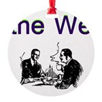 the-we Round Ornament