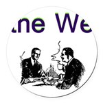 the-we Round Car Magnet