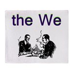 the-we Throw Blanket