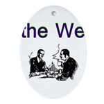 the-we Oval Ornament