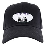 the-we Black Cap with Patch