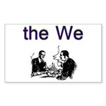 the-we Sticker (Rectangle)