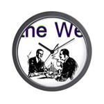 the-we Wall Clock