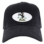 stinkin-thinkin Black Cap with Patch