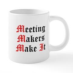 meeting-makers 20 oz Ceramic Mega Mug