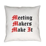 meeting-makers Everyday Pillow