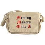 meeting-makers Messenger Bag