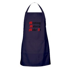 meeting-makers Apron (dark)