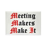 meeting-makers Rectangle Magnet (100 pack)