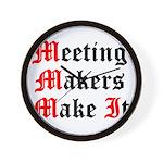 meeting-makers Wall Clock