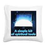 spiritual-tools Square Canvas Pillow