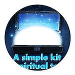 spiritual-tools Round Car Magnet