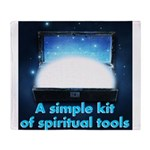 spiritual-tools Throw Blanket