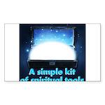 spiritual-tools Sticker (Rectangle 10 pk)
