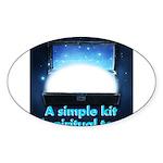 spiritual-tools Sticker (Oval 10 pk)