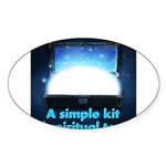 spiritual-tools Sticker (Oval)