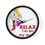 relax-meds Wall Clock